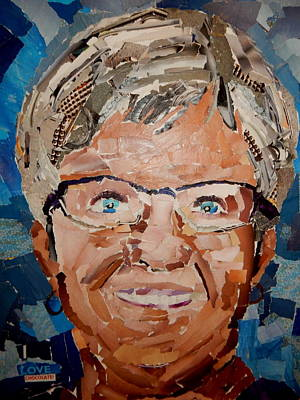 Mixed Media - It's Me by Betty-Anne McDonald