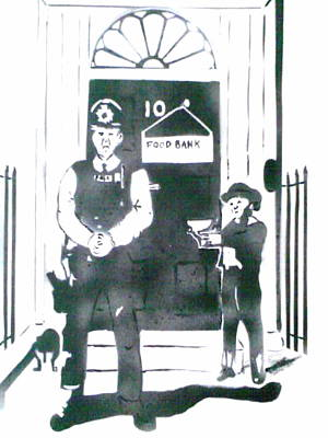 Its Not Austerity Its Politicaly Enforced Poverty Original by MERLIN Vernon