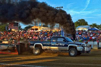 Photograph - Its Only Money Pulling Truck by Tim McCullough