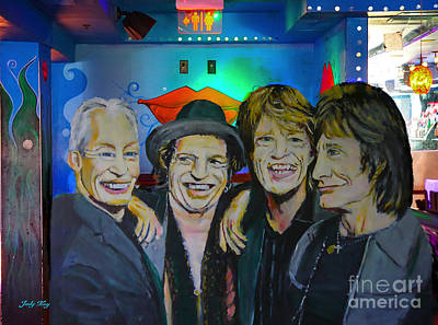 Painting - Its Only Rock And Roll by Judy Kay