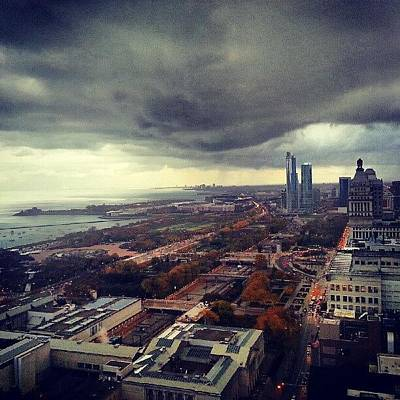 Chicago Photograph - It's Raining Folks by Jill Tuinier