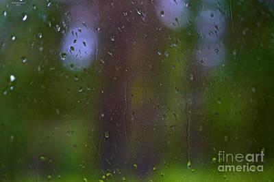 It's Raining Nostalgia - Tribute To Alfred Stieglitz - Pictorial Photography. Art Print by  Andrzej Goszcz