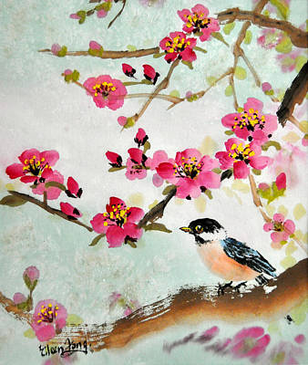 It's Spring Original by Eileen  Fong