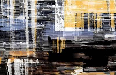 Digital Art - It's Still Raining by Art Di