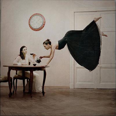 Fantasy Photograph - It's Tea Time by Anka Zhuravleva