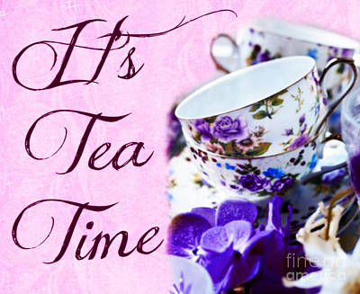 Mixed Media - It's Tea Time by Mindy Bench