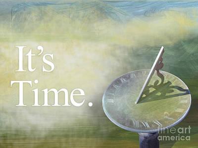 Wall Art - Painting - It's Time by Ellen Moore Osborne
