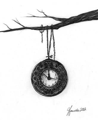 Drawing - Its Your Time by J Ferwerda