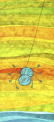 Itsy Bitsy Spider Art Print by Esteban Studio