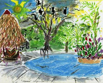 Drawing - Itzamana Costa Rica by Patrick Morgan