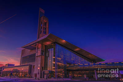 Photograph - Iupui Sunset 2014 by David Haskett II