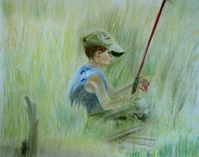 Painting - Ivan And The Red Rod by Claudia Goodell