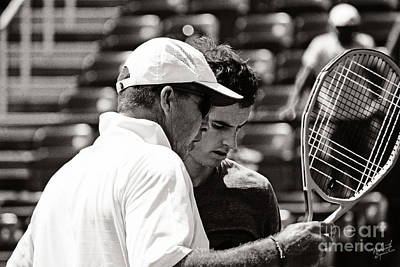 Australian Open Photograph - Ivan Lendl And Andy Murray  by Nishanth Gopinathan