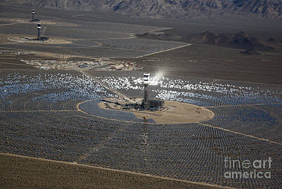 Photograph - Ivanpah Solar Project by Jim West