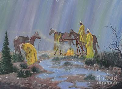 Painting - I've Seen Fire-i've Seen Rain by Bob Williams
