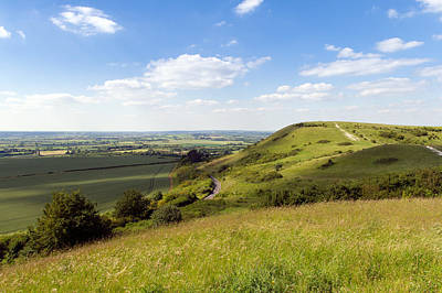 Photograph - Ivinghoe Beacon And Aylesbury Vale by Gary Eason