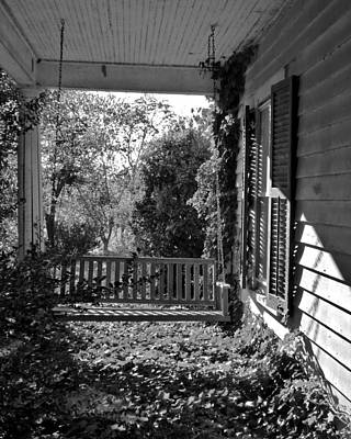 Photograph - Ivy-covered Front Porch by Jean Wright
