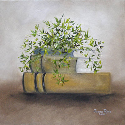 Painting - Ivy League by Judith Rhue