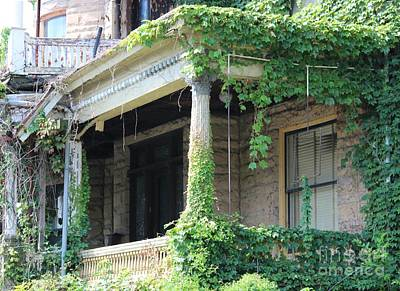 Art Print featuring the photograph Ivy Take Over by Cynthia Snyder