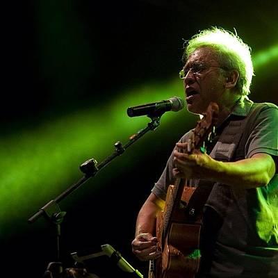 Concert Photograph - Iwan Fals #musician #legend #stage by Dwi Kresnantaka