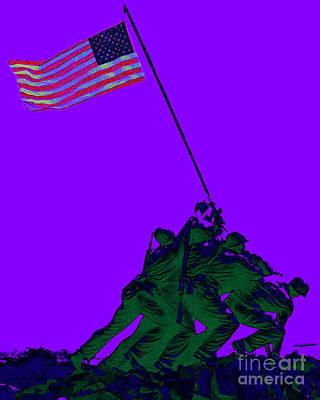 Iwo Jima 20130210m28 Print by Wingsdomain Art and Photography