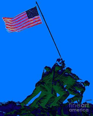 Iwo Jima 20130210m88 Art Print by Wingsdomain Art and Photography