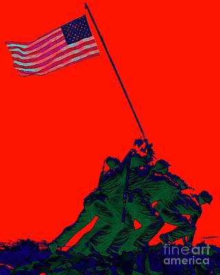 Iwo Jima 20130210p65 Art Print by Wingsdomain Art and Photography