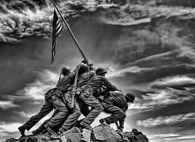 Iwo Jima Print by Boyd Alexander