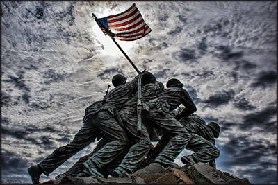 Photograph - Iwo Jima by Erika Fawcett