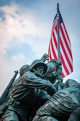 Iwo Jima Forward Art Print