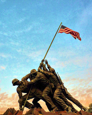 Photograph - Iwo Jima by JC Findley