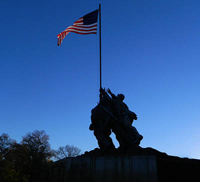 Photograph - Iwo Jima Memorial by Emmy Marie Vickers