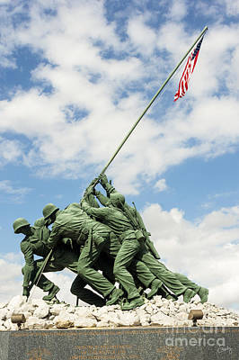 Photograph - Iwo Jima Monument II by Imagery by Charly