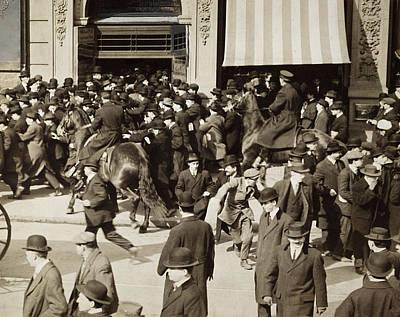 Iww Demonstration, 1914 Art Print by Granger
