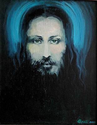 Christo Painting - I.x. by Nelya Shenklyarska