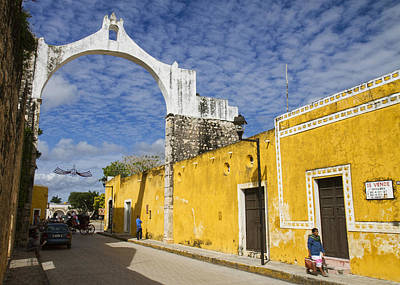 Photograph - Izamal And It's Famous Arch by For Ninety One Days