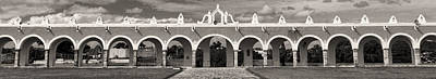 Photograph - Izamal Convent Panoramam by For Ninety One Days