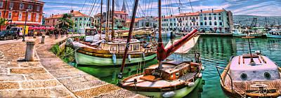 Izola Impressionist Art Print