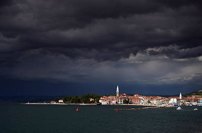 Izola In The Eye Of A Storm Art Print