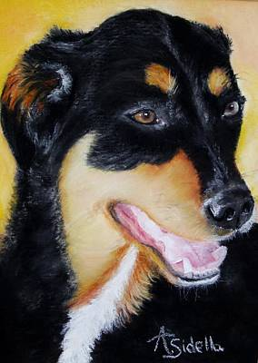 Painting - Izzy by Annamarie Sidella-Felts