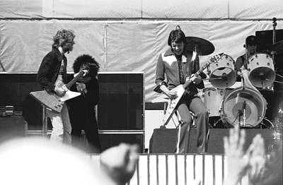Photograph - Day On The Green 6-6-76 by Ben Upham