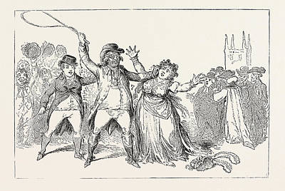 J. Gillray A Proof Of The Refined Feelings Of An Amiable Art Print