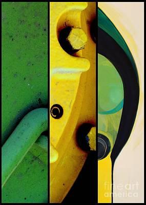 Mixed Media - j HOT 6 by Marlene Burns