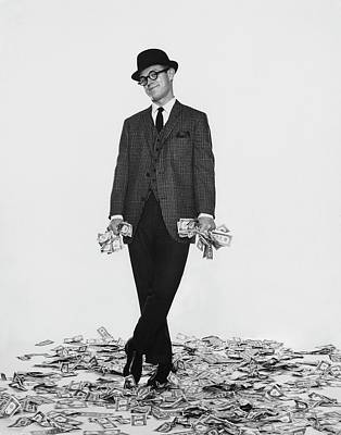 J. Kittlewood Thaxter IIi Standing On A Pile Art Print by Chadwick Hall