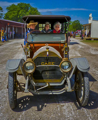Keck Photograph - J L Case Automobile by F Leblanc