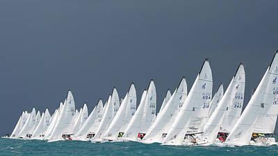 Photograph - J70 Key West by Steven Lapkin