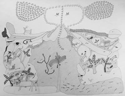 Gond Artist Painting - Ja/gj 01 by Govind Jogi