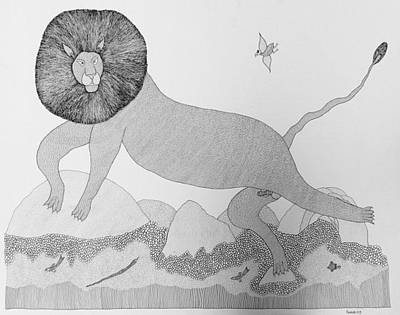 Indian Tribal Art Painting - Ja Pj 27 by Prakash Jogi
