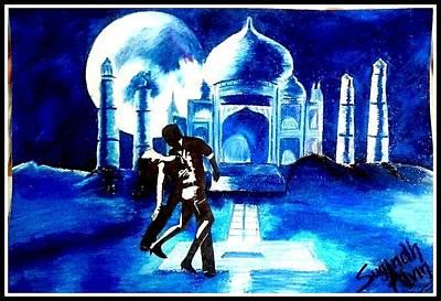 Jab Drawing - Jab Tak Hai Jaan by Alvin Joseph