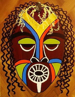 Art Print featuring the painting Jabari by Celeste Manning